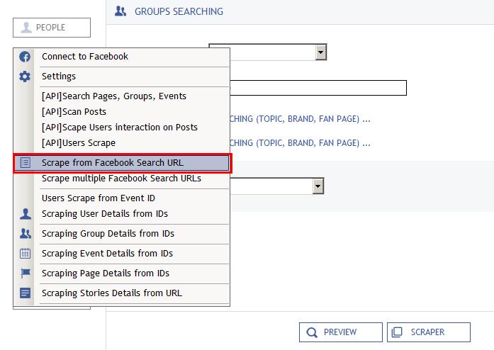 因应FB官方语法更新,FB Scraper 采集粉丝主页、小组與地標解决